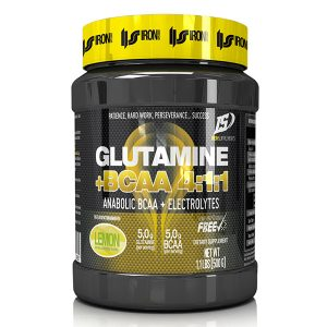 Glutamina + BCAA 4:1:1 + Electrolitos – 500g