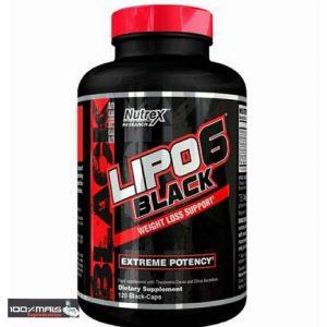 Nutrex Lipo 6 Black 120 Cápsulas